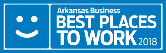 Arkansas Best Places to Work logo