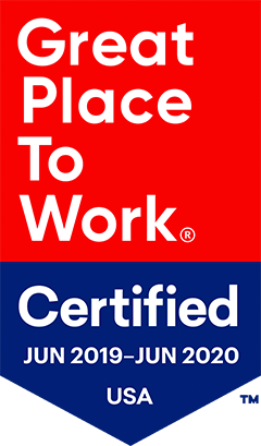 Great Place to Work Certified logo