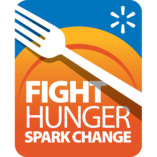 Fight Hunger. Spark Change. transparent logo