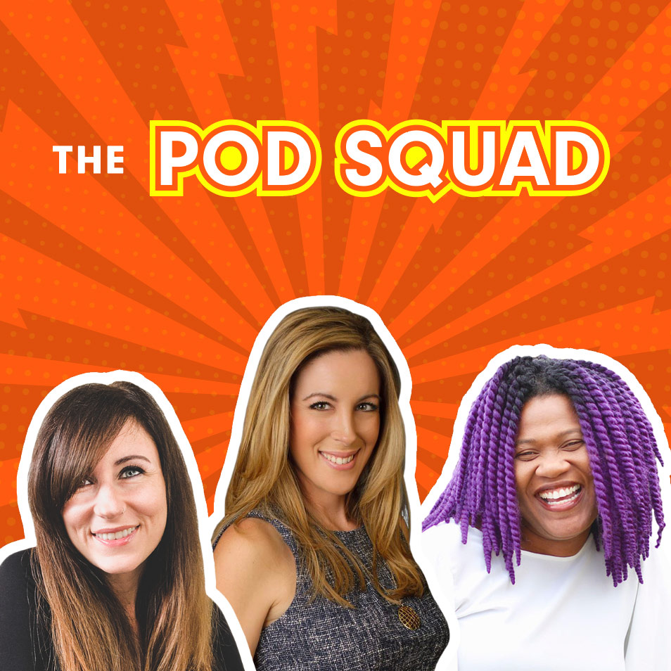 Three influencers form the POD SQUAD