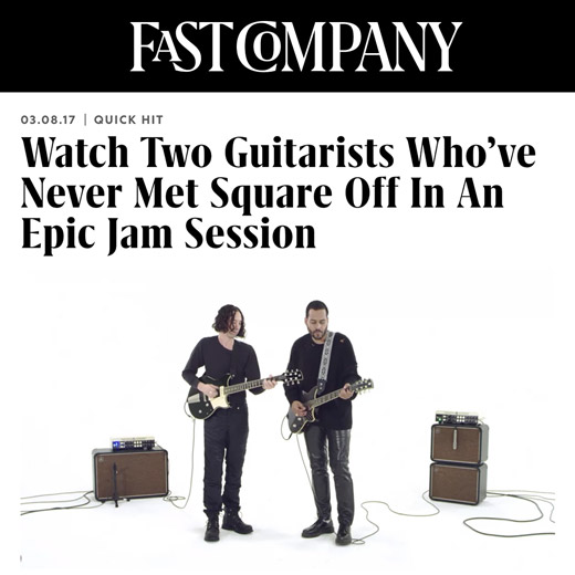 Fast Company article on Yamaha Turned Up jam session