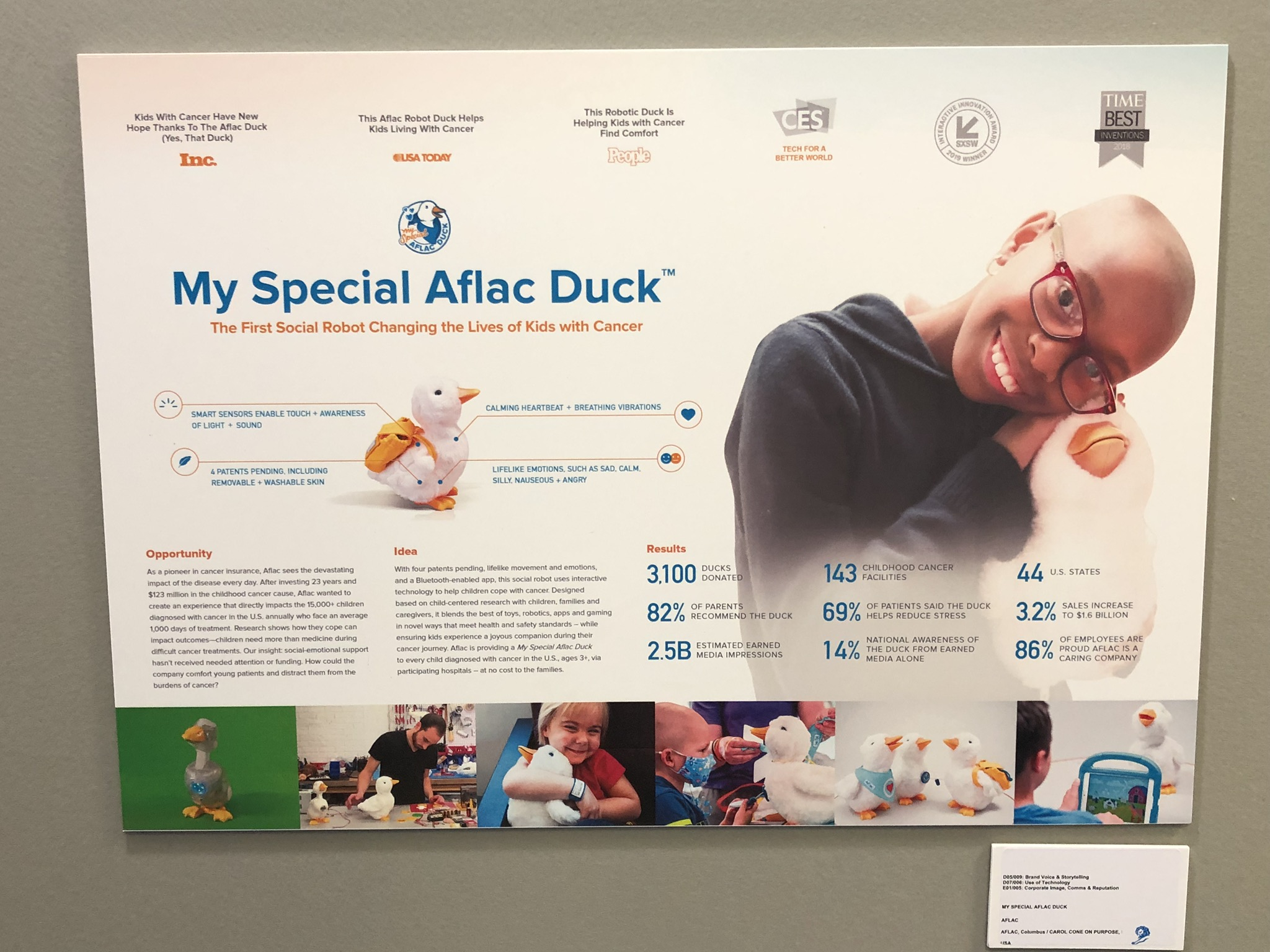 Cannes winner: Aflac duck