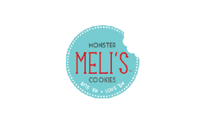 Meli's Monster Cookies Transparent Logo