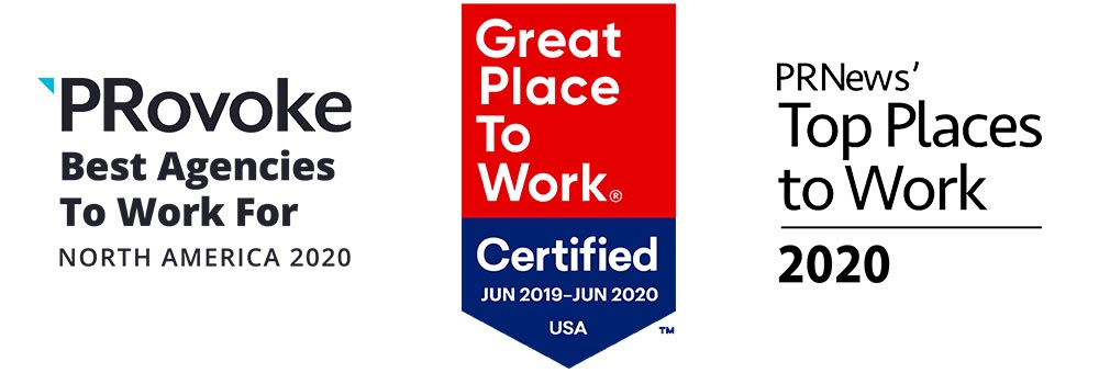 Top places to work awards: Provoke, PR News, Great Place to Work Certified